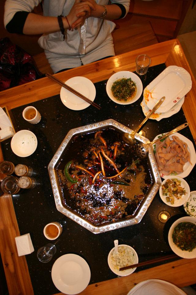 The Famous Sichuan Hot Pot
