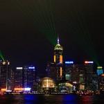 Hong Kong Harbour Symphony of Light Show