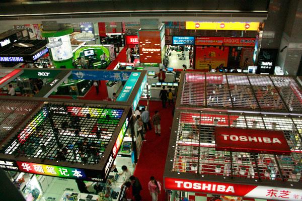 Shenzhen Electronics Shopping – Huaqiangbei and SEG