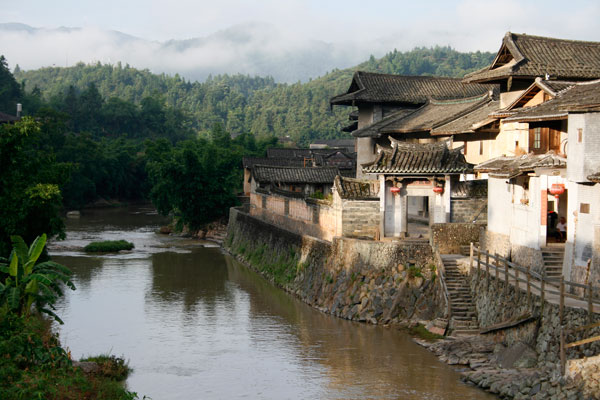 Fuyulou Changdi Inn and Hukeng Village