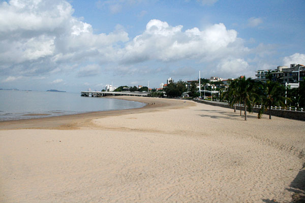 Xiamen Hulishan Beach and Huli Hill Fort