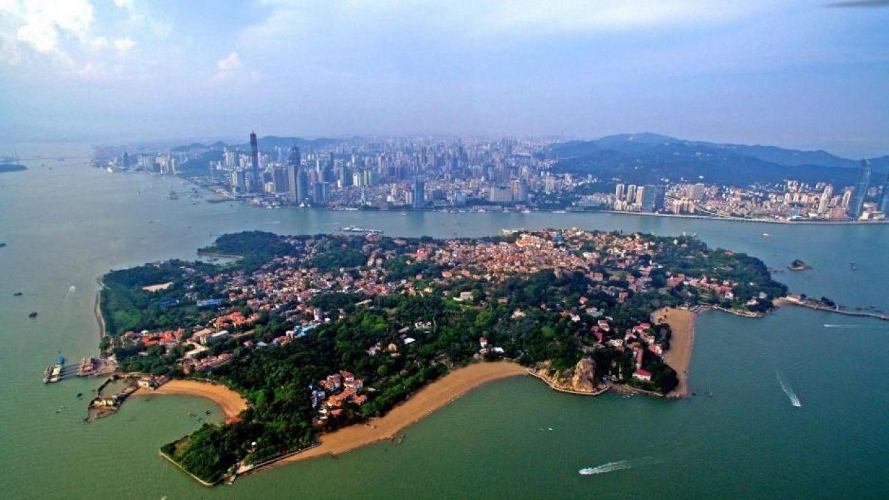 Xiamen China Map.Xiamen Inc Gulangyu The Top Attractions And Map Welcome To China