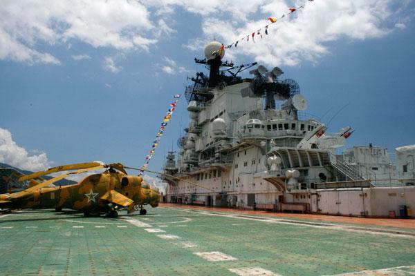 Shenzhen Minsk World – The Ex-Russian Aircraft Carrier