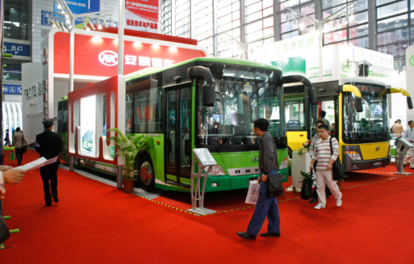 Electric and Hybrid Buses from Ankai