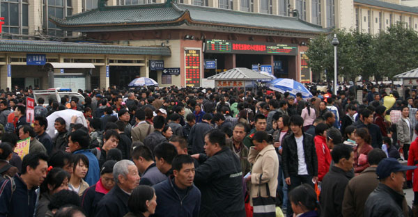Spring Festival Travel: China's Annual Migration Begins