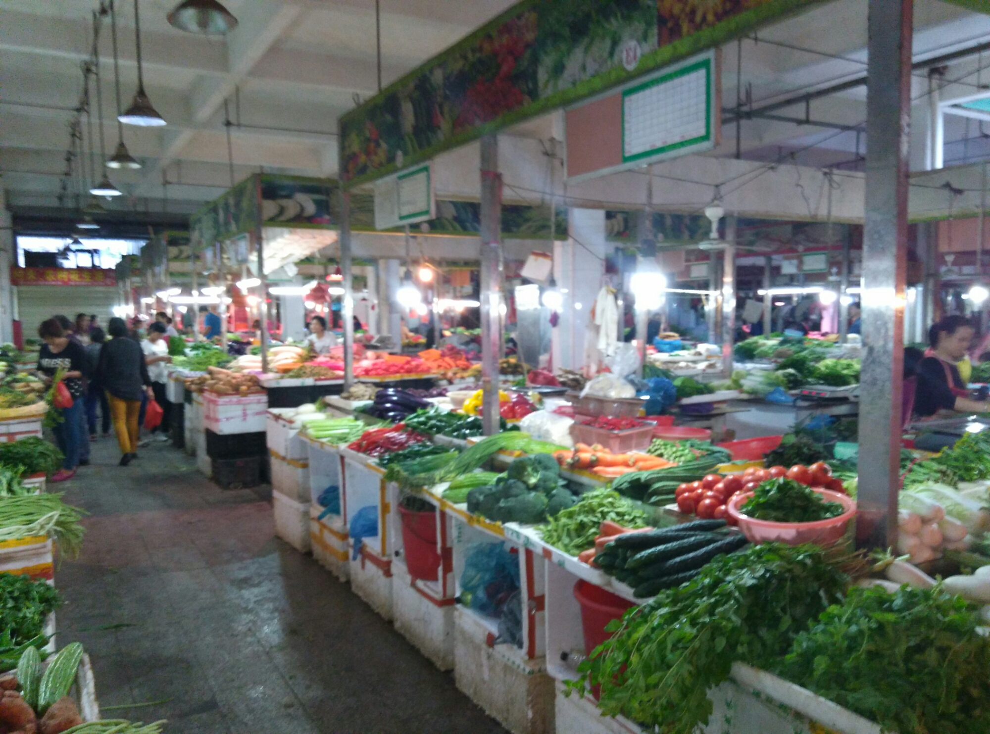 Daily Life in Guangdong: The Fresh Food Market