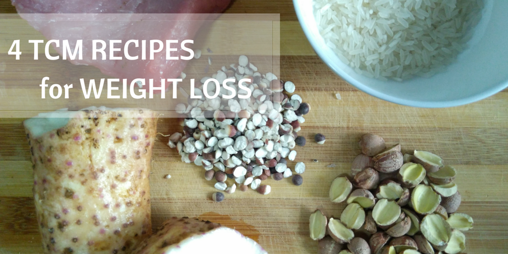 4 TCM food remedies for Weight Loss