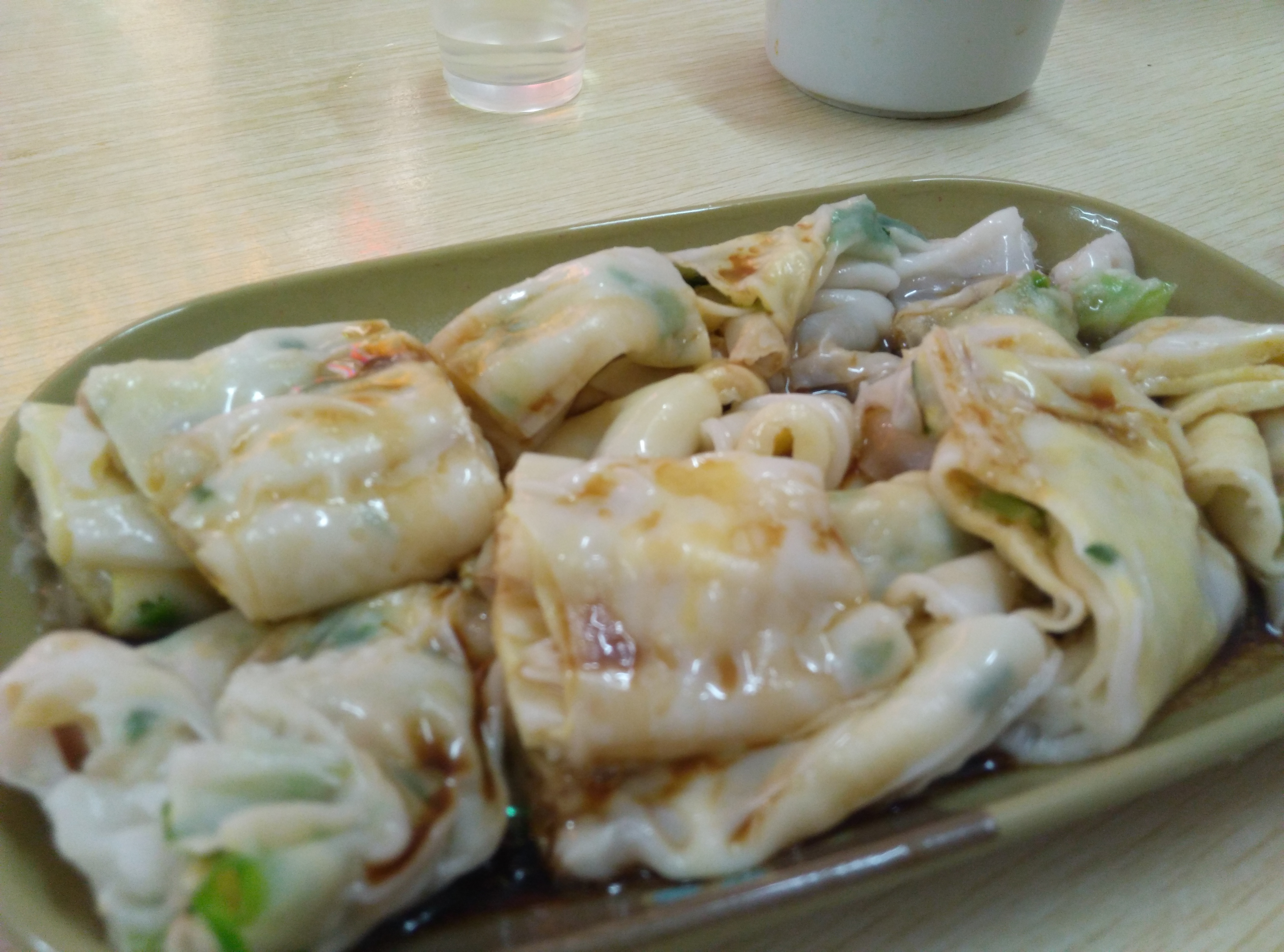 Lets Eat…. Chang Fen (Rice Noodle Rolls)