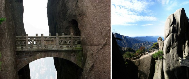 buxian-bridge-huangshan-china