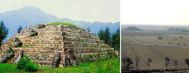 chinese-pyramids-of-xian-xianyang-china